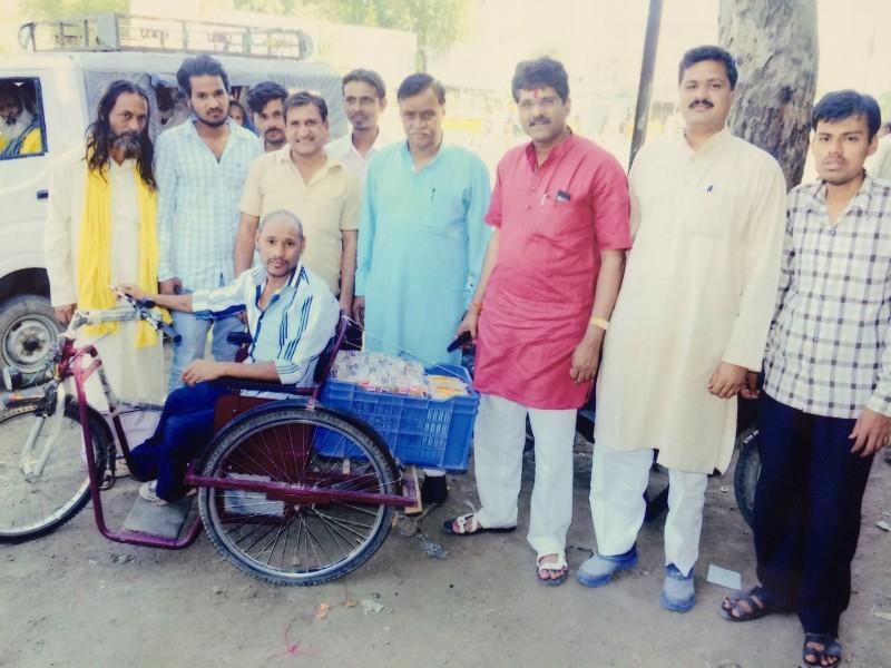 MLA (from Madhya Pradesh) funds Empowering SAP selling milk etc
