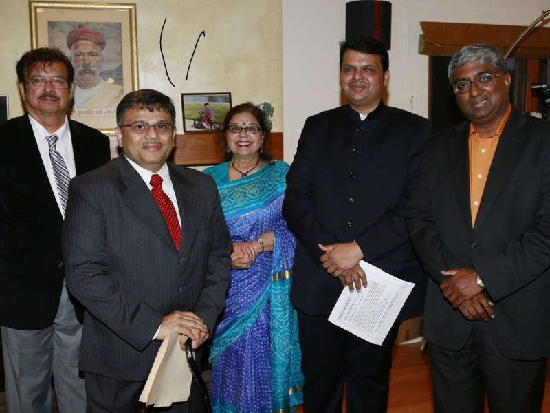 VoSAP Team With Shri Devendra ji, CM of Maharashtra
