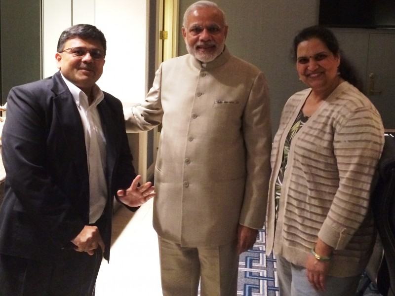 VoSAP Founders and H'ble PM Shri Narendrabhai in US (Sep 2015)