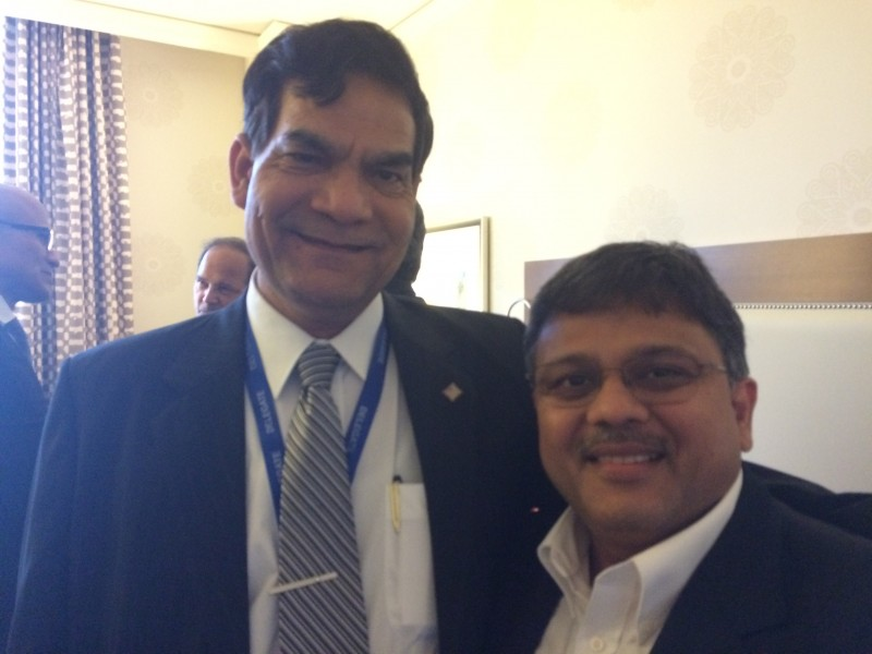 With Shri A K Sharma, JS to PM of India
