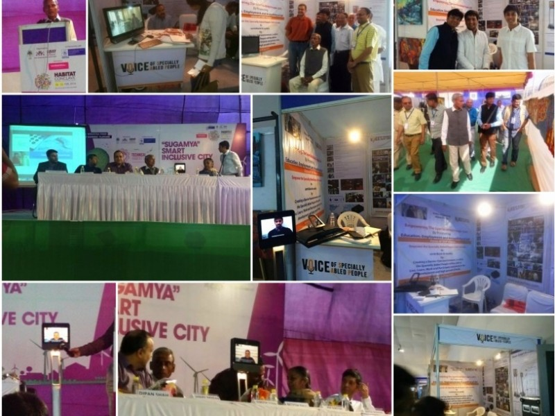 VoSAP at Accessible Smart Cities Conclave by GICEA, India