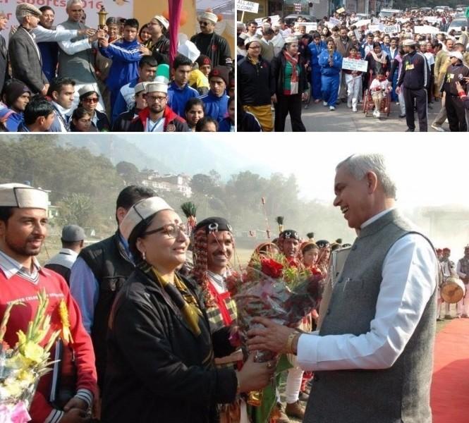 Winter Special Olympics India_Mallika ji, VoSAP Adviser