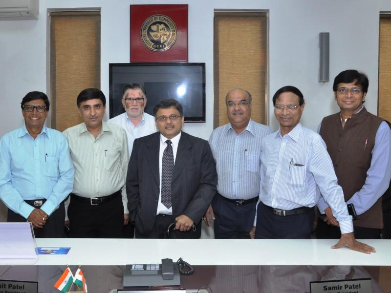 Voice of SAP Team with GCCI Executives, India