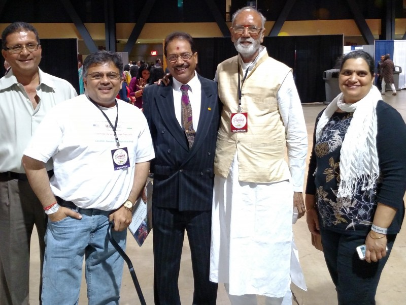 VoSAP Team at Gujarat Mahotsav in Los Angeles