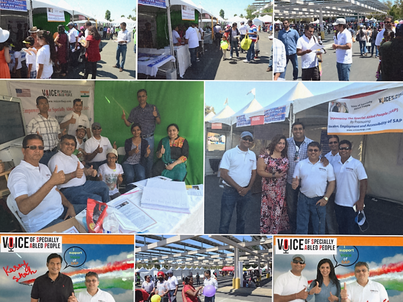 VoSAP Celebrates India's Independence Day in CA, USA