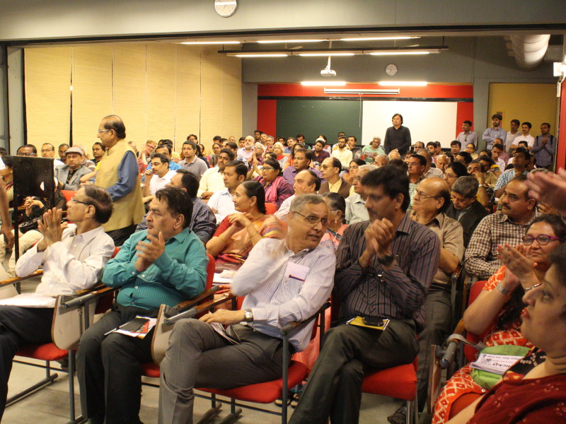 VoSAP Event attendees at AMA (Ahmedabad Management Association)