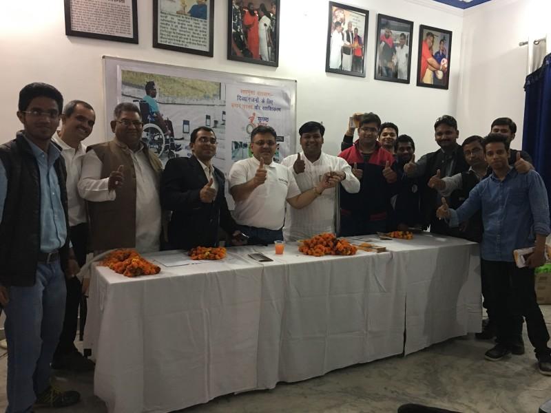 VoSAP Team meet in Meerut, UP