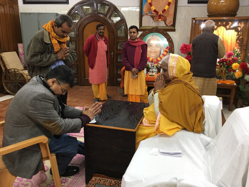 VoSAP Founder Shri Pranav Desai received blessings of Jiji, Gayatri Pariwar