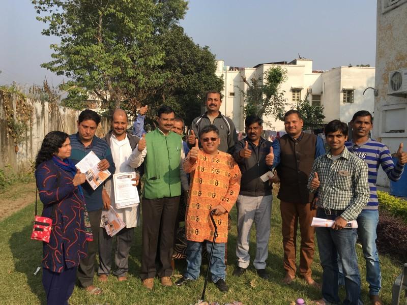 VoSAP Team meet in Haridwar, Uttarakhand