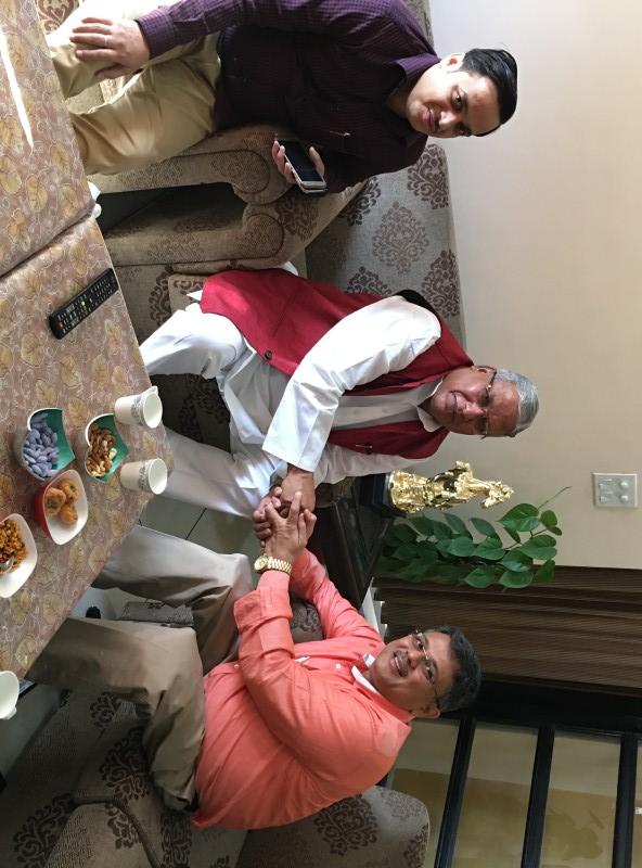 VoSAP Team meets H'ble MP, Meerut, Shri Rajendra ji