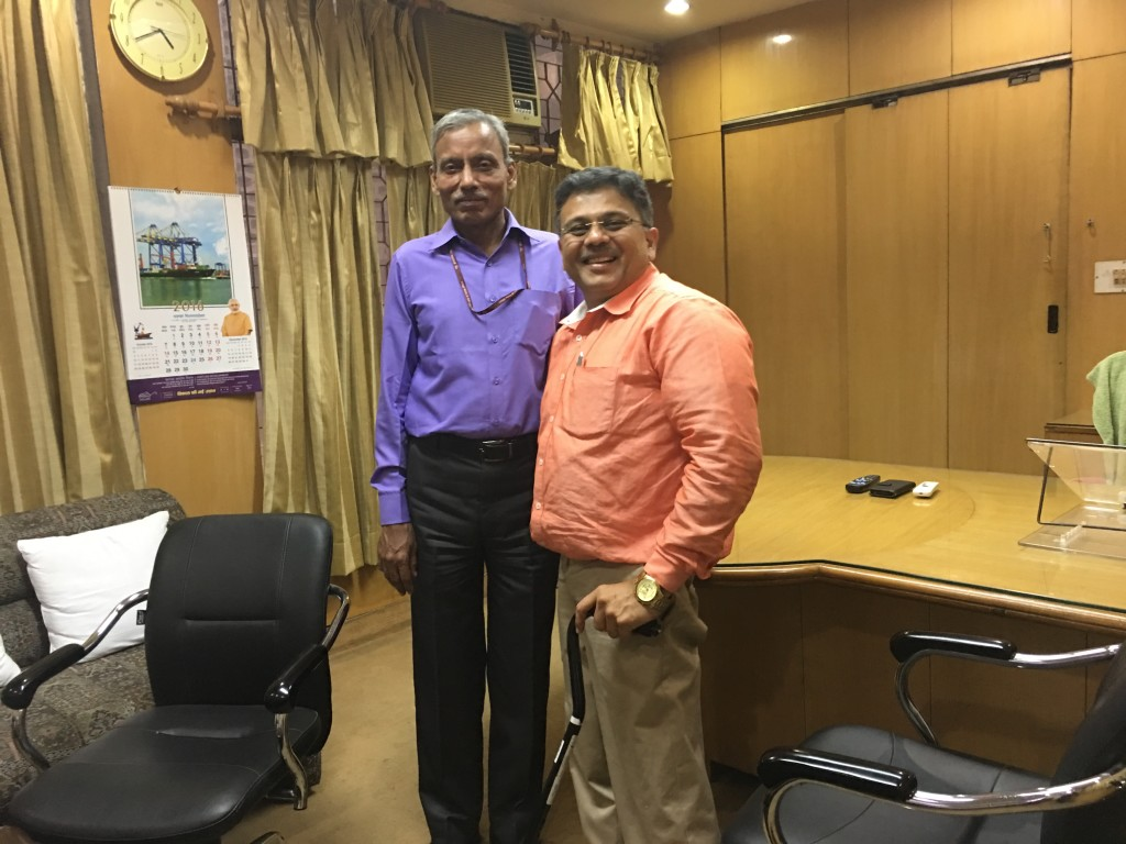 VoSAP Founder meets Chief Commissioner of India for PwD