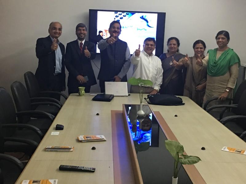 VoSAP Team meets several MPs