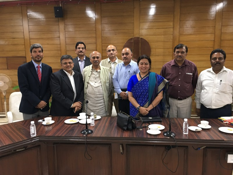 VoSAP Team meets Chairman, NDMC and team