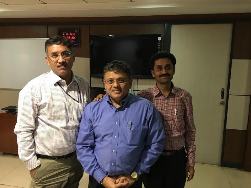 VoSAP Team meets Commissioner, Ahmedabad Municipal Corporation, Shri Mukesh Kumar ji