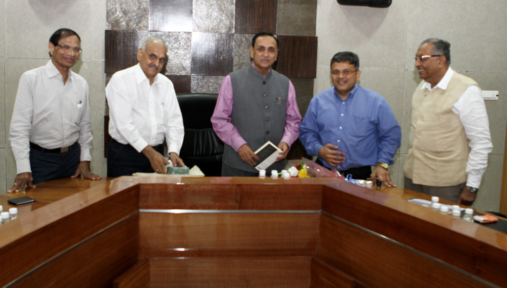 VoSAP Team meeting with H'ble CM, Gujarat Shri Vijay Rupani ji