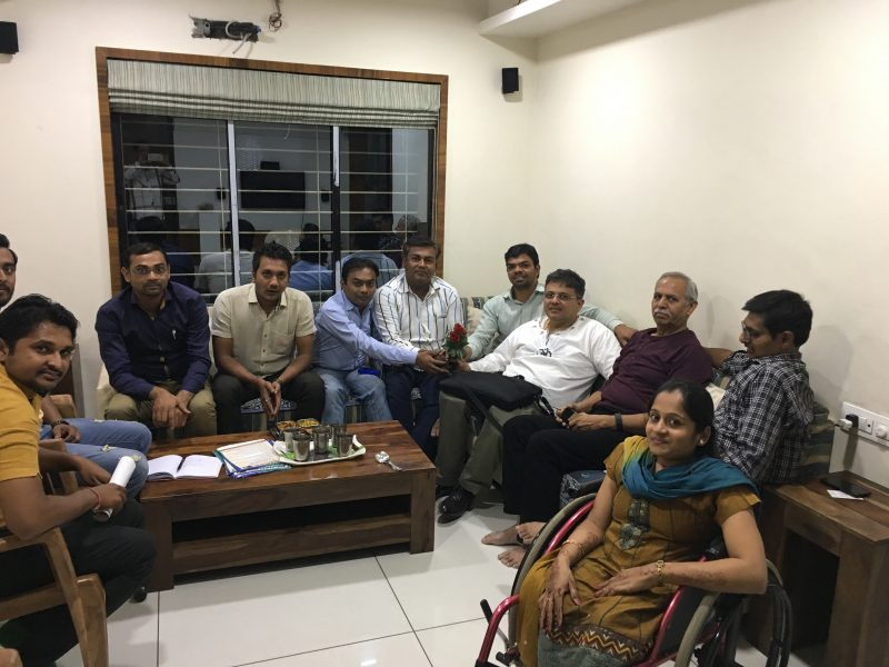 VoSAP Team meeting in Surat