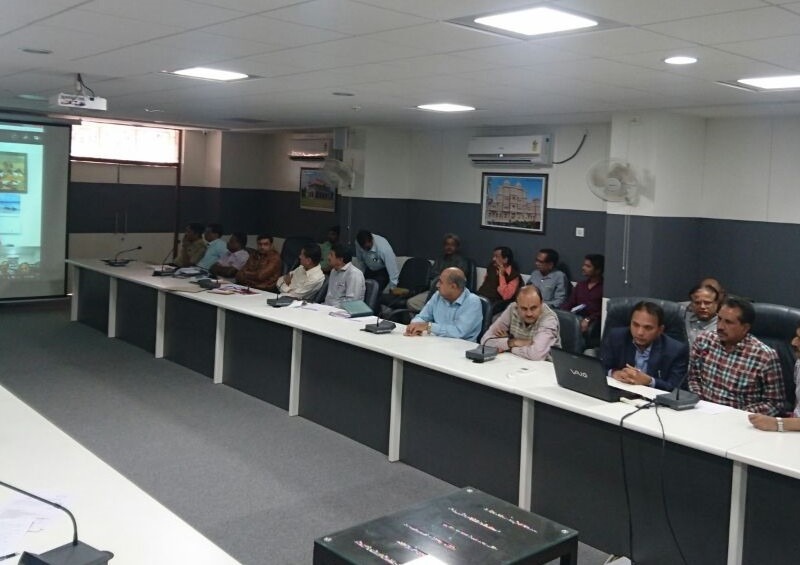 VoSAP Founder's Skype meeting with Jamnagar District Administration