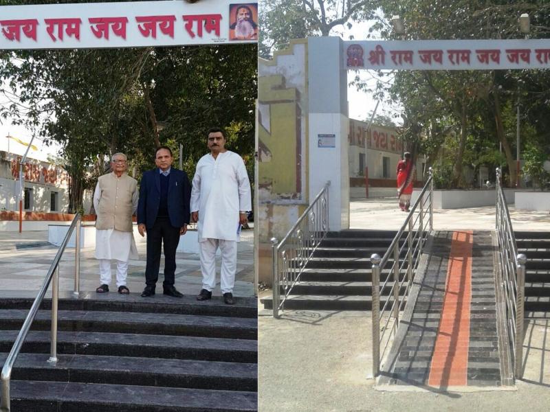 Bala Hanuman, Jamnagar Temple made Accessible