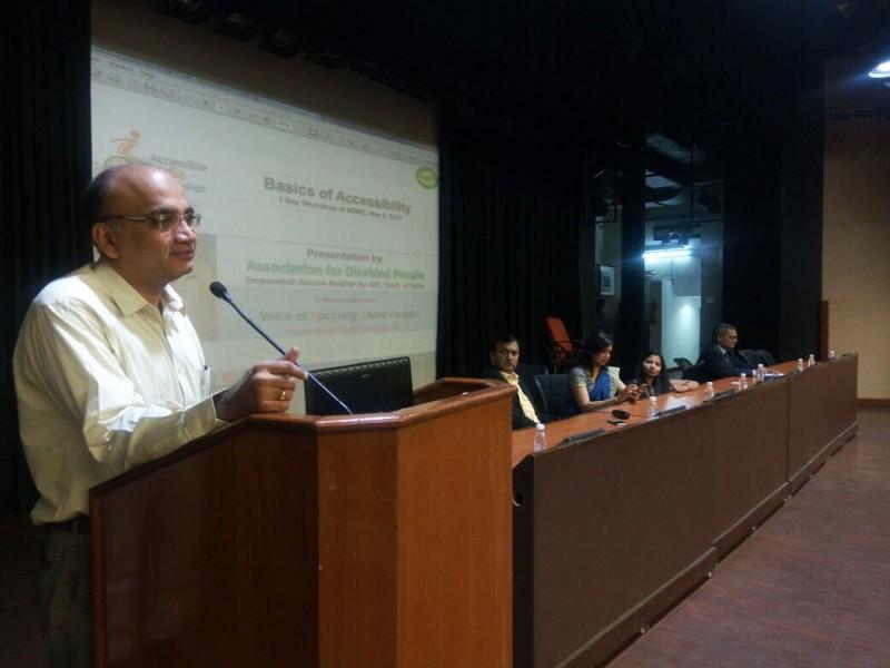VoSAP Team Conducting 1 Day Workshop at NDMC (New Delhi)