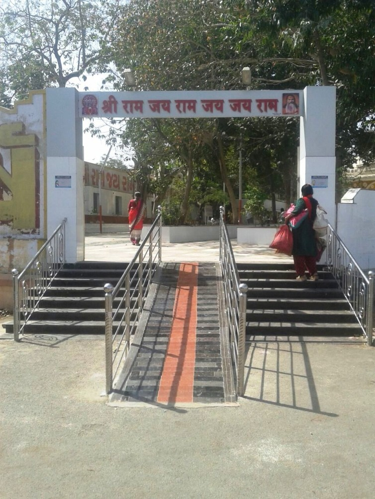 Ramp at Bala Hanuman Temple
