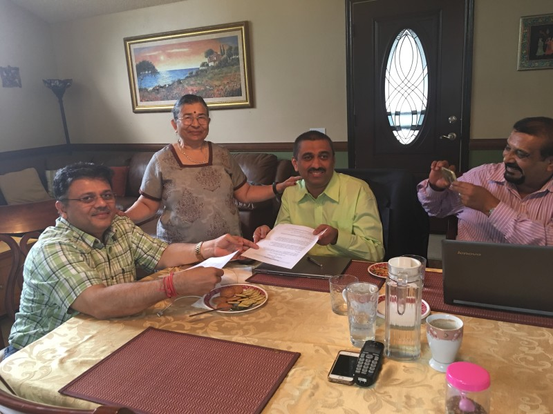 VoSAP and Samarthanam Founders signs MoU, join hands