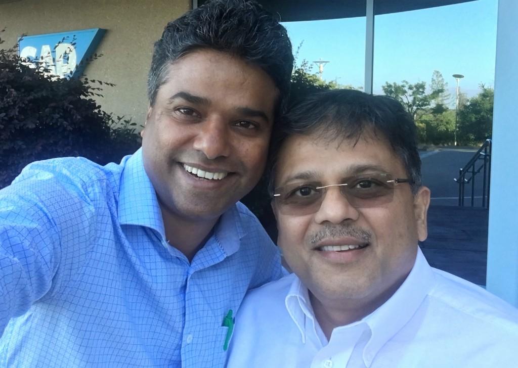 Pranav with Ferose