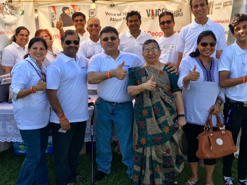 VoSAP Team in Chatsworth CA at India's Independence Day Celebrations