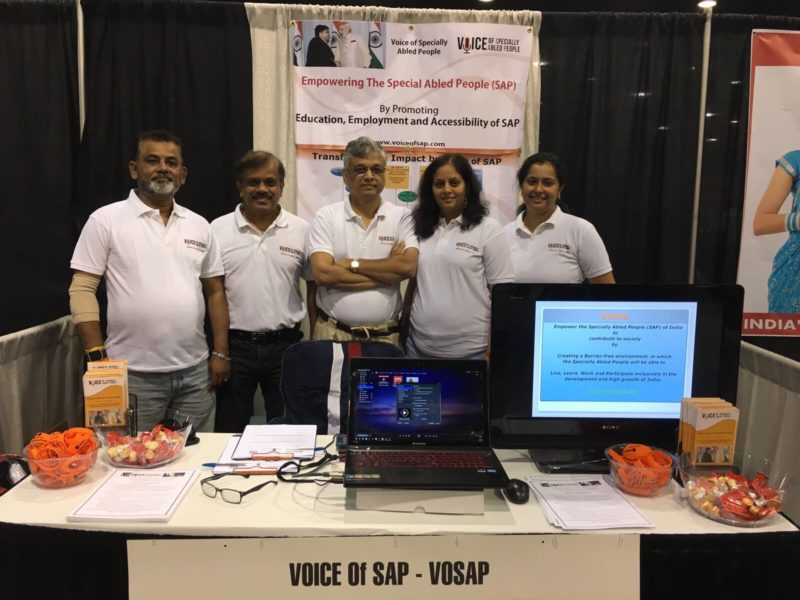 VoSAP Team – Atlanta Celebrates India's Independence Day
