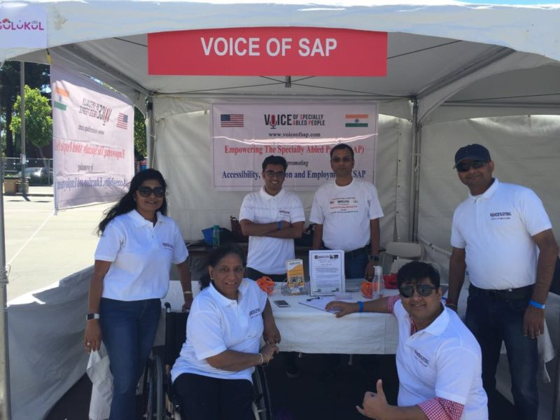VoSAP Team – San Jose at India's Independence Day Mela