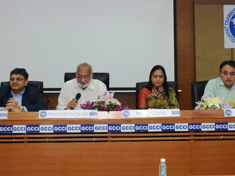 Inspiring 175+ corporate leaders at Gujarat Chamber of Commerce and Industries