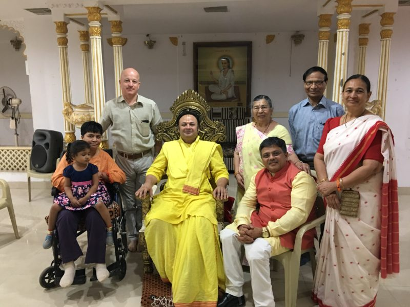 Divine blessings of P.P. Jejeshri to VoSAP team and mission