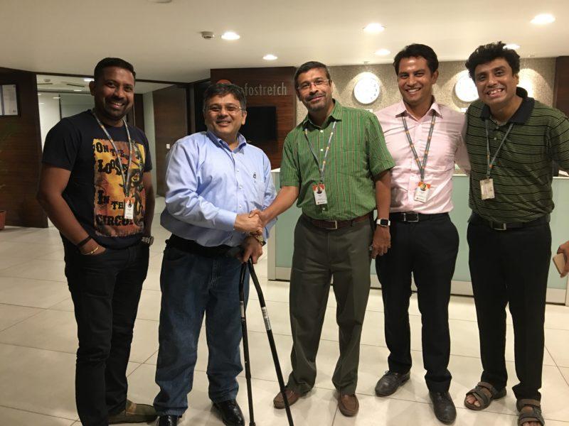 VoSAP's corporate initiative adopted by Infostretch Team