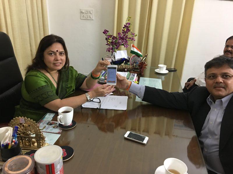VoSAP Adviser and H'ble Member of Indian Parliament took VoSAP Pledge