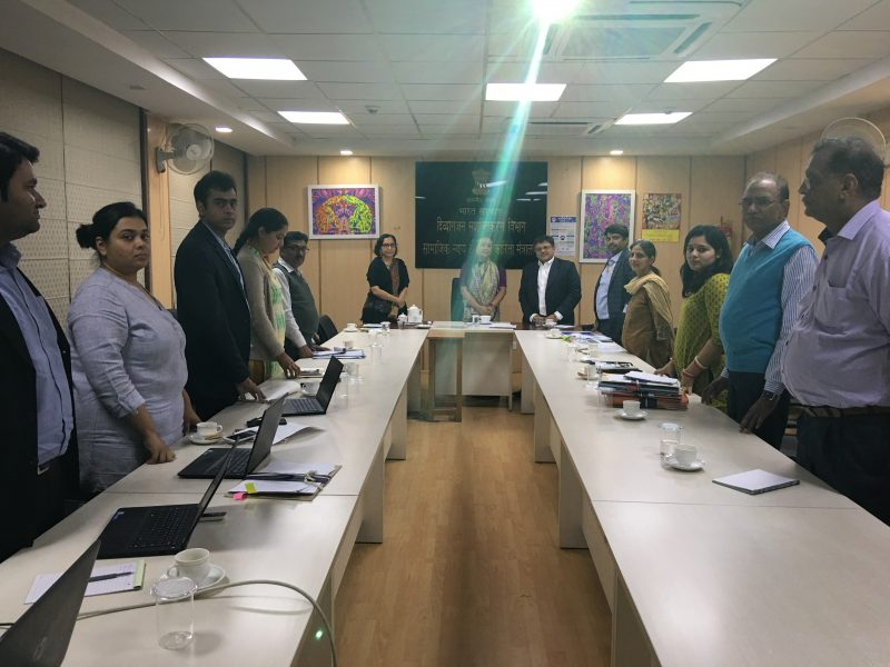 Secretary (Shakuntala ji), JS (Dolly ji) of DoEPWD, Govt of India took VoSAP Pledge