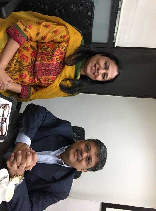 Dr Priti Adani, Chair Adani Foundation took VoSAP pledge, understood VoSAP vision, CSR projects