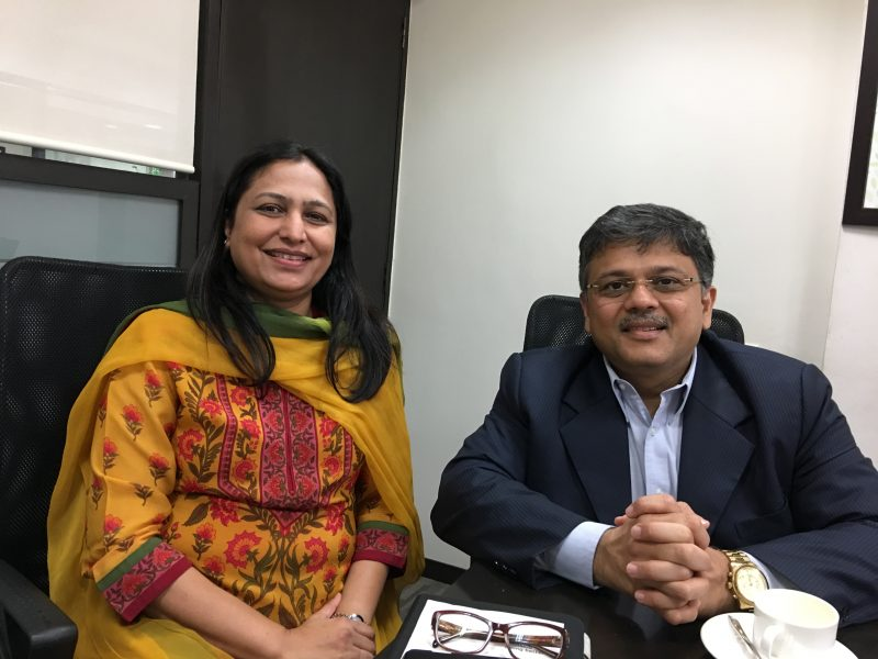 Dr Priti Adani, Chair Adani Foundation took VoSAP pledge, understood VoSAP vision, CSR projects