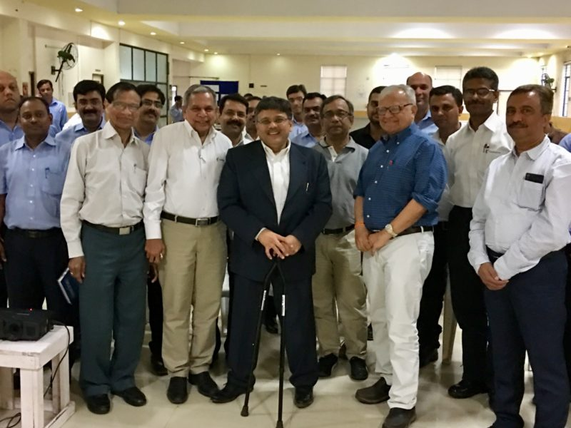 VoSAP's corporate initiative Adopted by Harsha Engineering Team