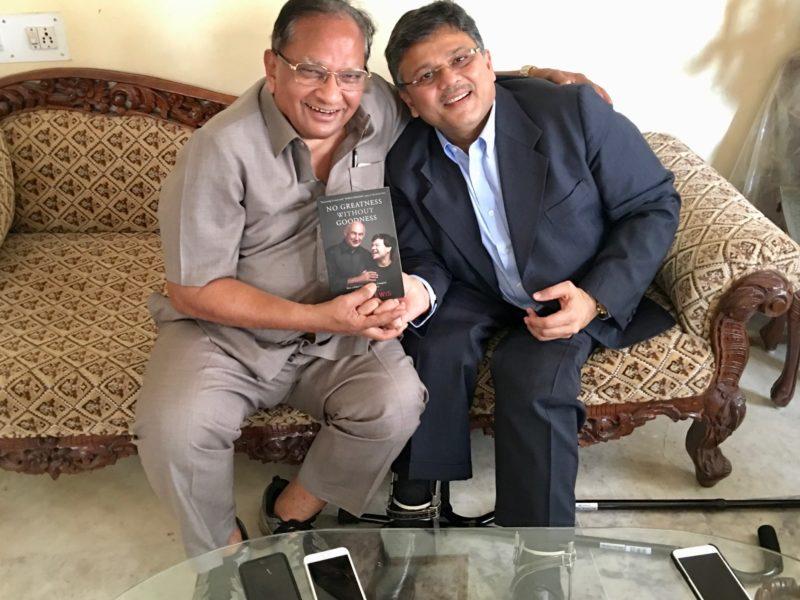 Shri Piyushbhai, Chairman of Waghbakri Tea Donates to VoSAP