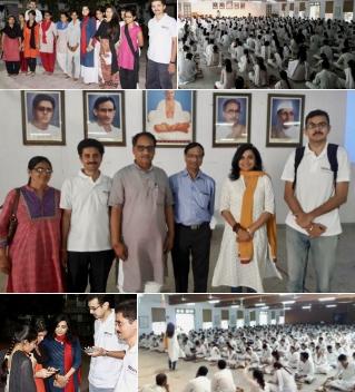 VoSAP Team at Gujarat Vidyapeeth, Ahmedabad