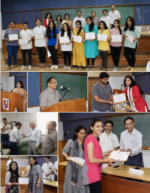 85 students received VoSAP certificate at Nirma University