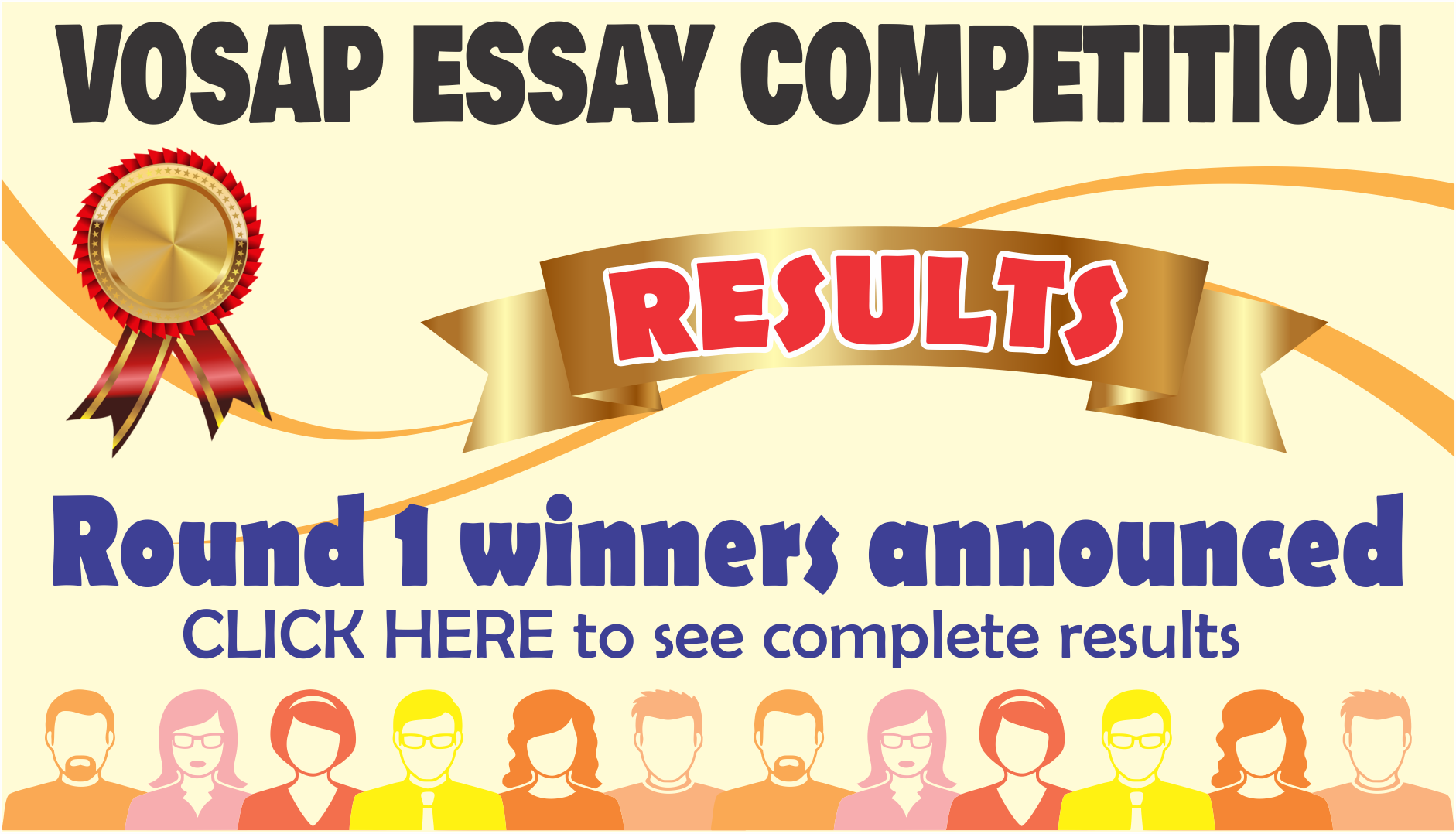 Winners of Round 1 - VOSAP Essay Competition