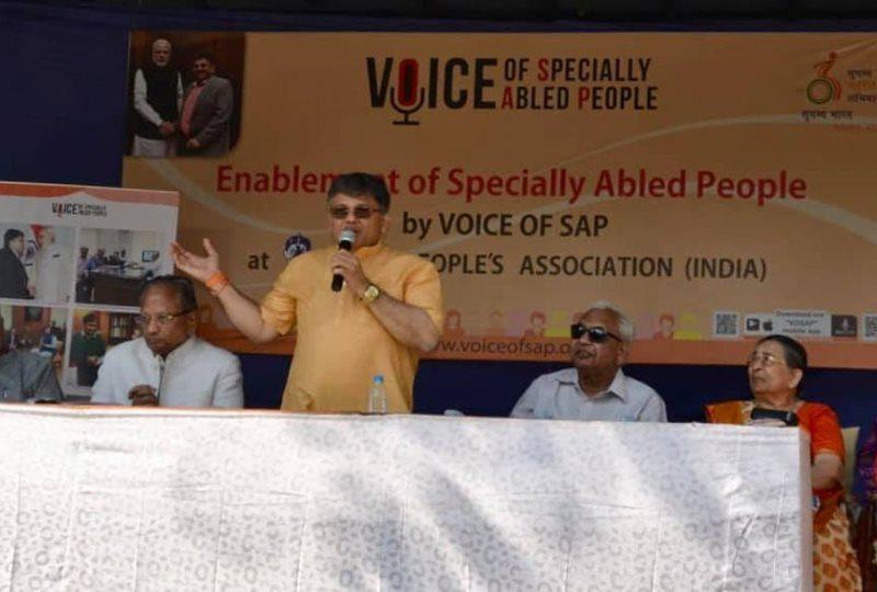 Pranav Desai addressing 2nd VOSAP Enablement Camp