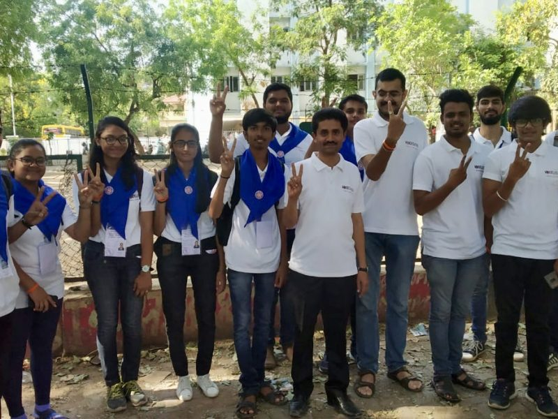 VOSAP Volunteers helping during Elections 2019