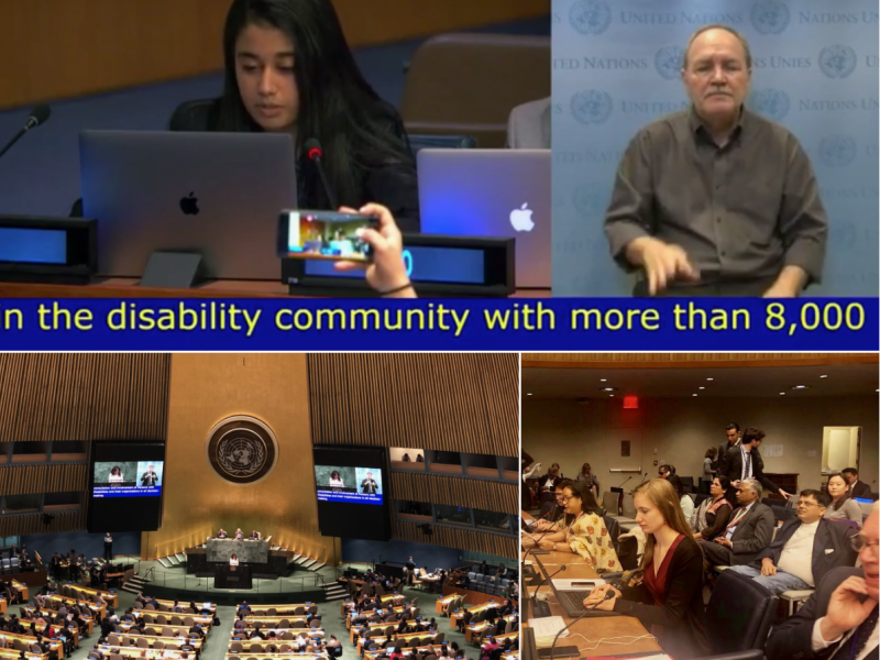 VOSAP Statement at UN, during annual conference of 178 countries (COSP12)