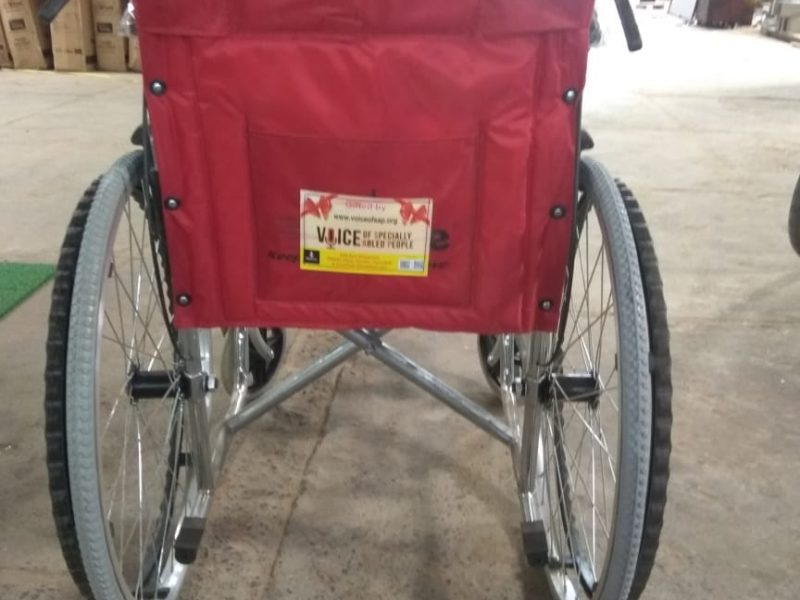 VOSAP provides wheelchairs and volunteers at 35 booths