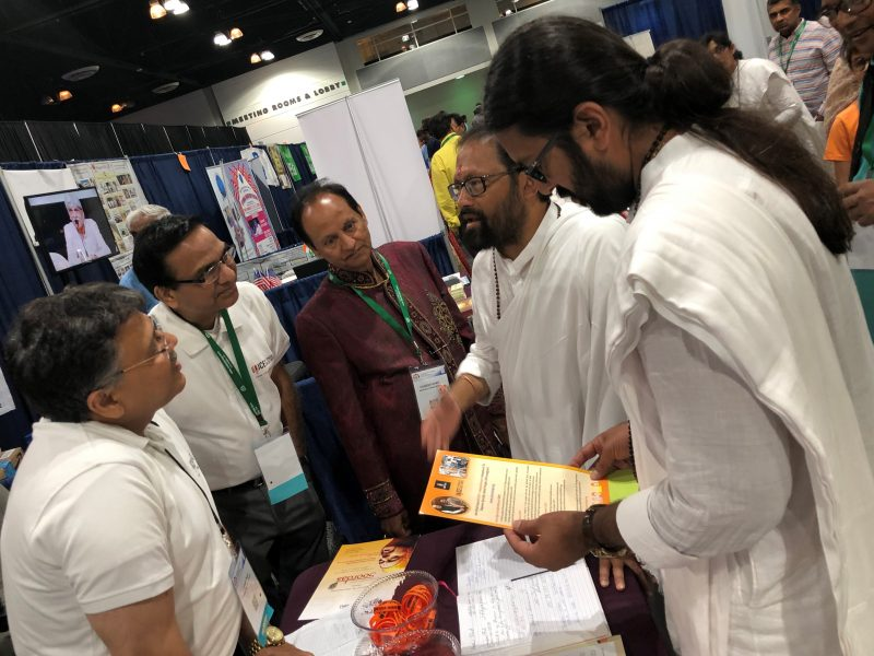 Pujya Rakeshbhai Jhaveri (Srimad Rajchandra Misshion) blessed VOSAP mission