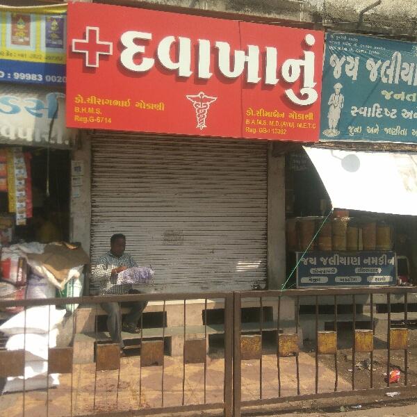 Dr. Chirag Gokani, Dhebar Road, Lohana Para, Rajkot