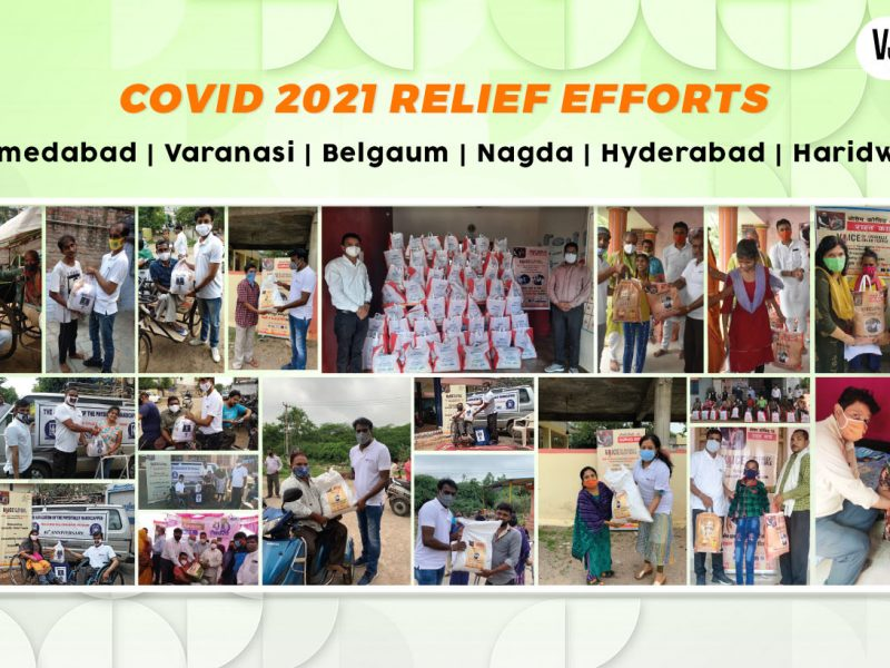 VOSAP helped divyangjan in 6 different cities during Covid19 2nd wave