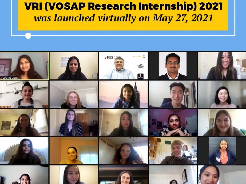 28 Interns to research on 5 topics of disability